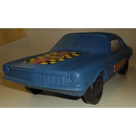 Carrinho Ford Maverick Vintage Retrô Plástico Bolha Carro