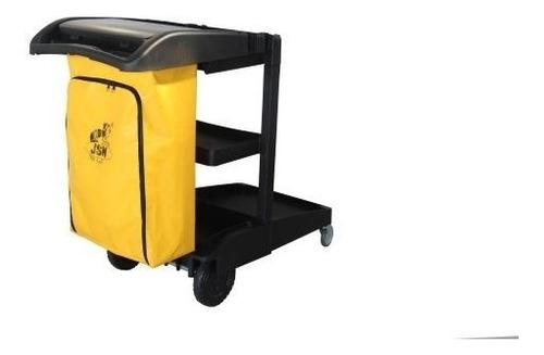 carrinho funcional de limpeza kit completo - w3 mop esfregão