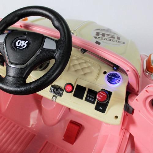 carrinho fusca elétrico infantil com controle remoto