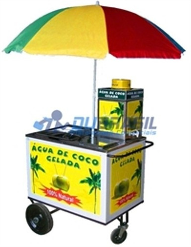 carrinho gela coco profissional lisboa torre e guarda sol