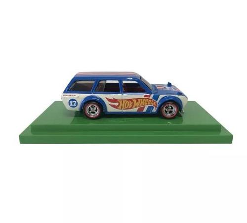 carrinho hot wheels datsun 1971 exclusivo do salão brasil