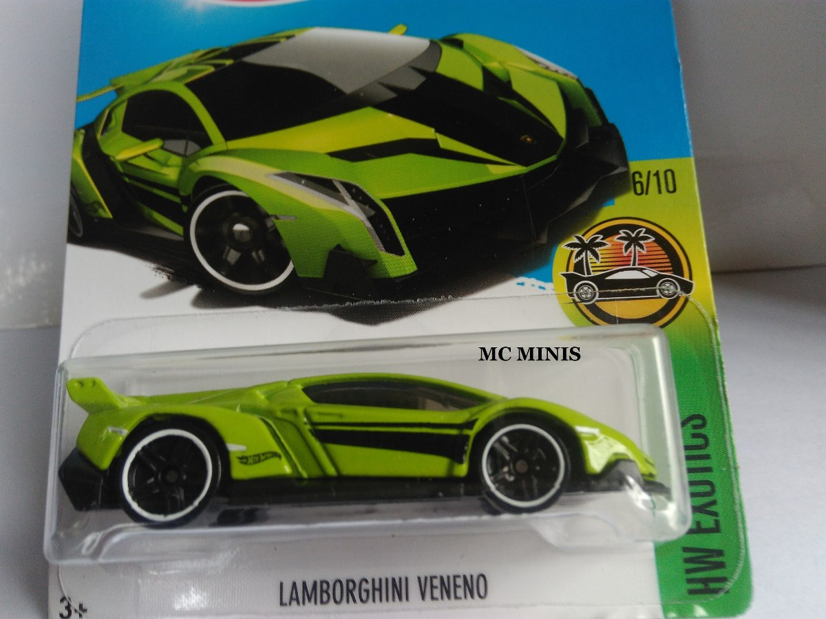 Carrinho Hot Wheels Lamborghini Veneno 2017 Lote G R 45 00 Em