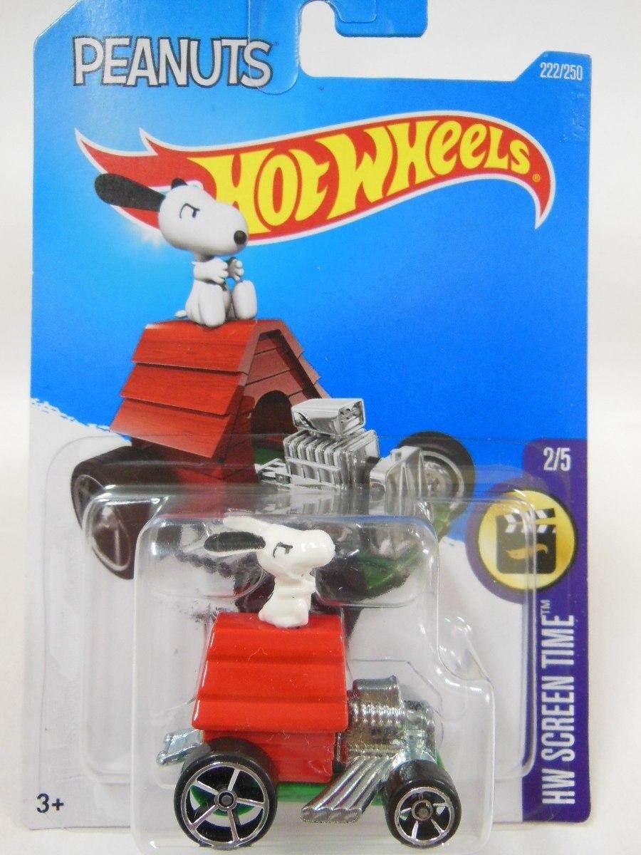 Hot Wheels Peanuts Snoopy