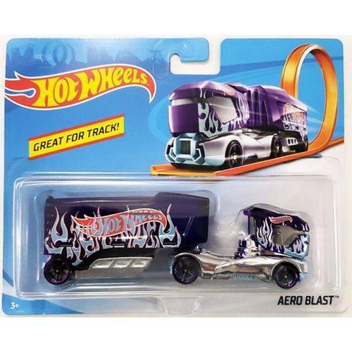 carrinho hot wheels track stars aero blast mattel