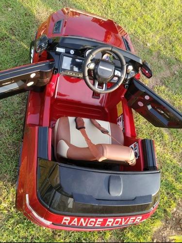 Carrinho Infantil 12v Range Rover Evoque - Dr Play Car