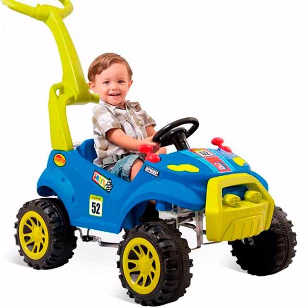 88adb19ab87a2 carrinho infantil a pedal bandeirante smart car c cinto segu. Carregando  zoom.