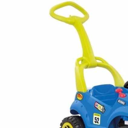 6f569be0737b1 Carrinho Infantil A Pedal Bandeirante Smart Car C Cinto Segu - R ...