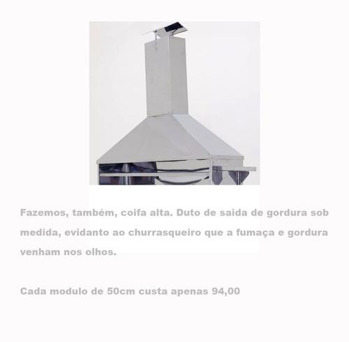 carrinho itália aço inox churrasquinhos até 120 espetinhos!!