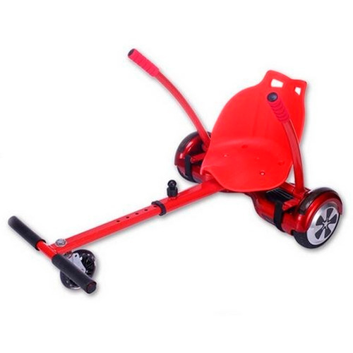carrinho kart hoverkart p/ hoverboard scooter skate 6,5 a 10