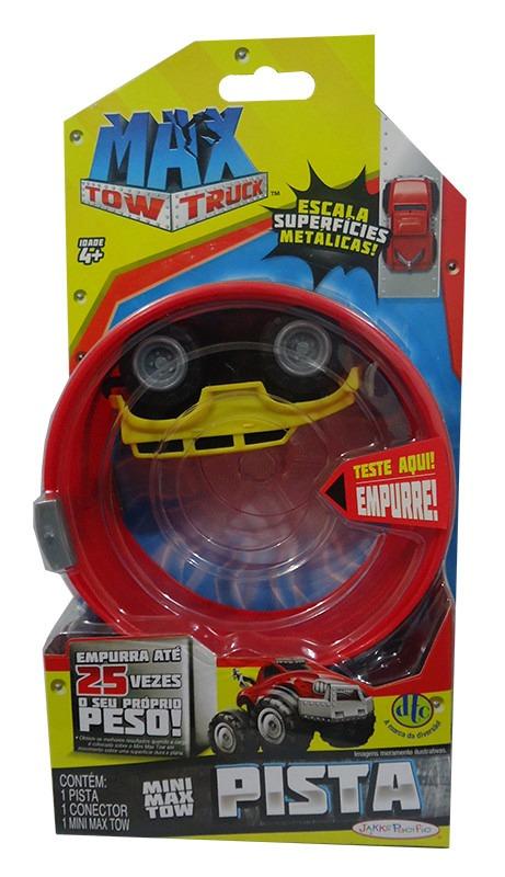 Carrinho Mini Max Tow Pista Brinquedo Dtc 3679 Amarelo R 6324 Em