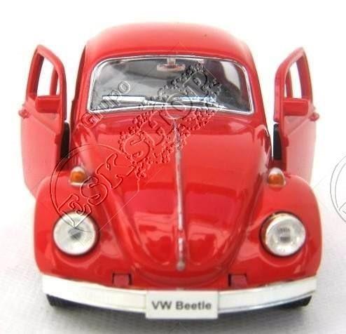 carrinho miniatu fusca 1967 beetle miniatura 1/32 ferro