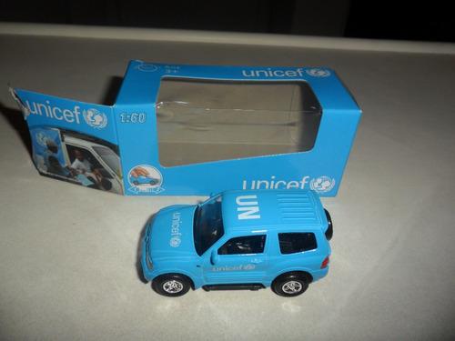 carrinho miniatura da unicef