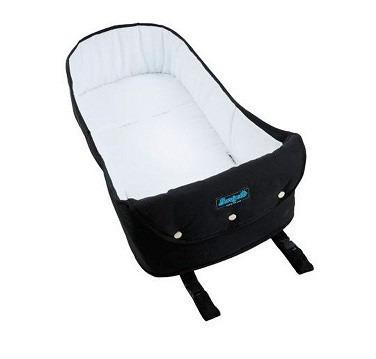 carrinho módulo pramette + bebe conforto burigotto capuccino