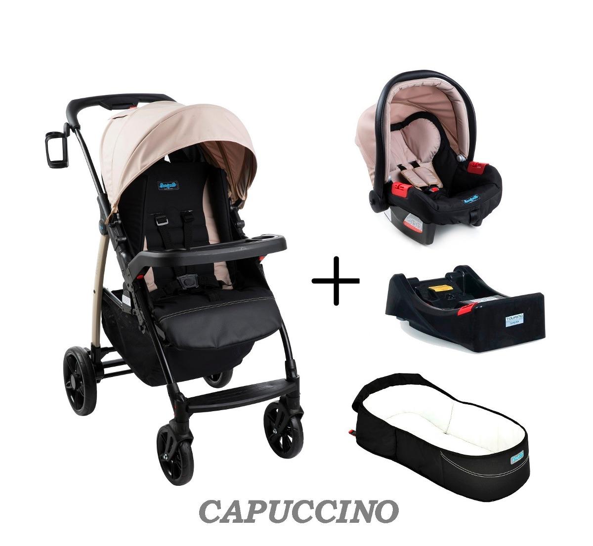 93c4d5c8b carrinho módulo pramette + bebe conforto burigotto capuccino. Carregando  zoom.