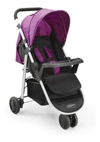 carrinho multikids baby 3 rodas agile bordô - bb528