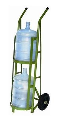 carrinho para 2 garrafões de água - cod. 2103