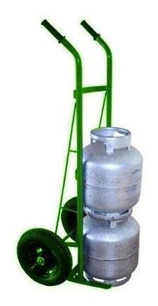 carrinho para 3 botijões ou 1 cilindro p45 - cod. 2096