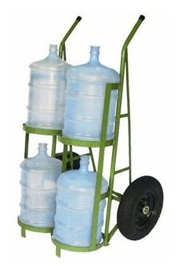carrinho para 4 garrafões de água - cod. 2104