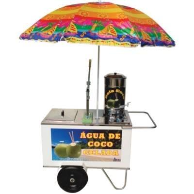 carrinho para água de coco gelada - alsa
