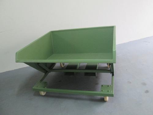 carrinho para resíduos