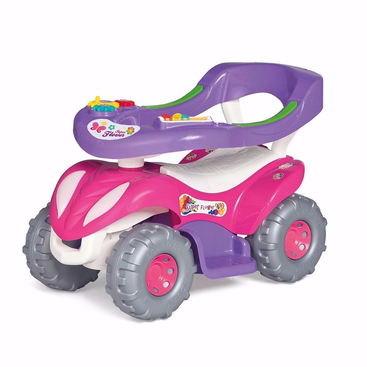 5f1a6c96710205 carrinho passeio infantil feminino c/ empurrador - calesita. Carregando  zoom.