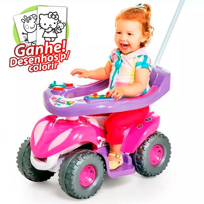 ef6960dbbcd1c4 carrinho passeio infantil para bebê super flower empurrador. Carregando  zoom.