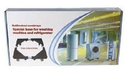carrinho p/fogão-geladeira maquina lavar-suporte/pé ajustave