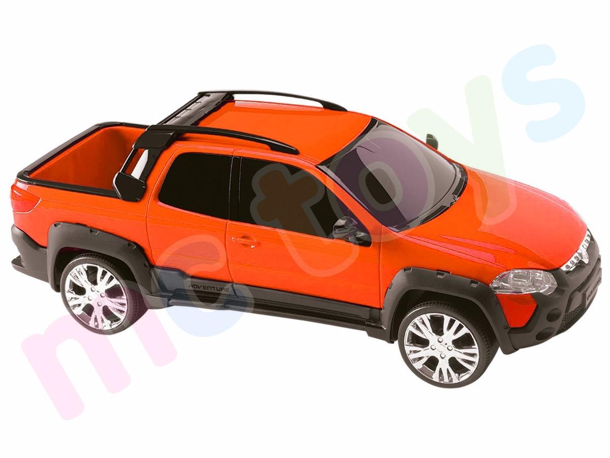 carrinho pick up fiat strada adventure roma brinquedos r 30 99 em mercado livre. Black Bedroom Furniture Sets. Home Design Ideas