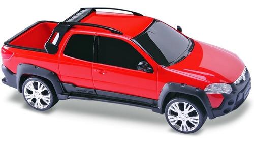 carrinho pick up strada miniatura menino - roma brinquedos