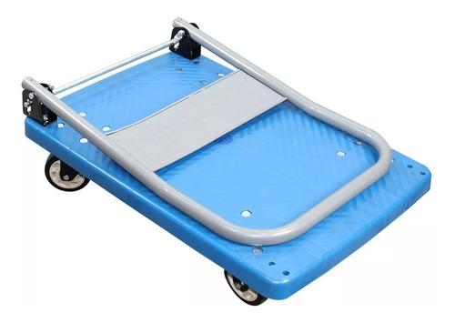 carrinho plataforma aluminio dobrável multiuso carga 150kg