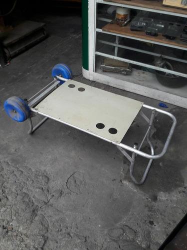 carrinho praia vira mesa porta objetos