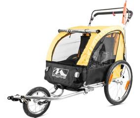a30115724f Carrinho Reboque M Wave Bike Criança Trailer 2 Crianças 60kg