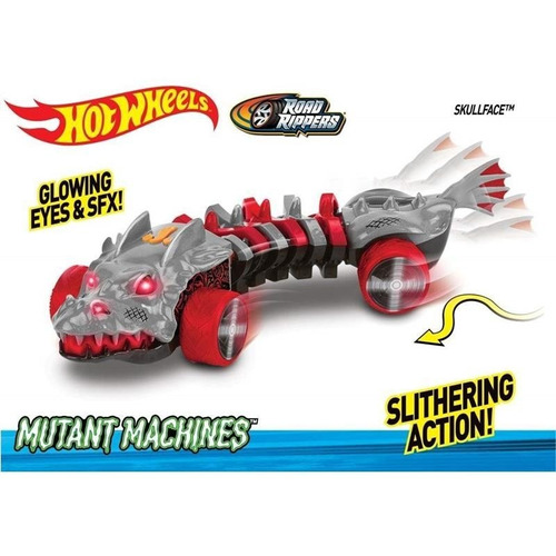 carrinho road rippers hot wheels mutant machine skulface dtc