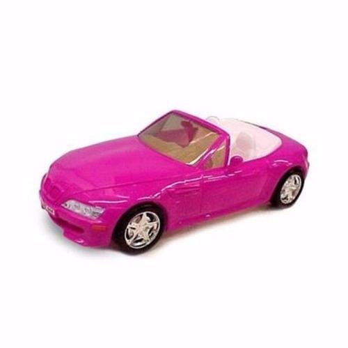 carrinho roadster conversível p/ boneca barbie - 46cm - roma