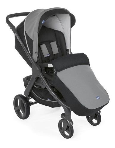 carrinho style go up cross e bebê conforto jet black chicco