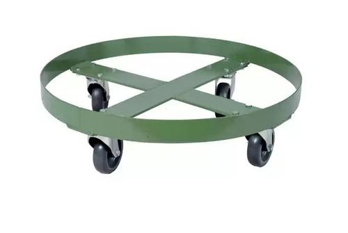 carrinho tartaruga redondo para tambor 200 l - cod. 2117