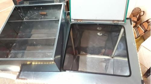 carrinho térmico de açaí personalizado com leds