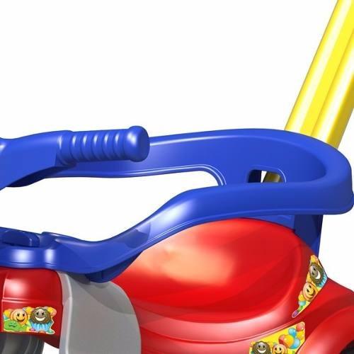 carrinho velotrol empurrador bebê 2 anos rosa azul 2560/2561