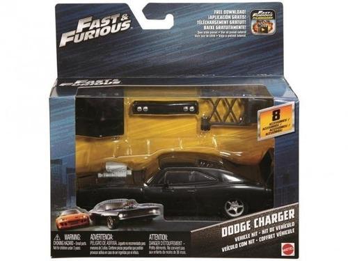 carrinho velozes e furiosos dodge charger mattel fcg46