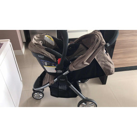 c73c3635aa0b1 Britax B Agile (carrinho+ Base Isofix + Bebê Conforto)