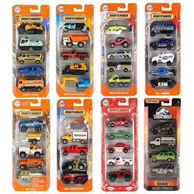 Carrinhos Matchbox Pack Com 5 Escolhe O Seu - Mattel