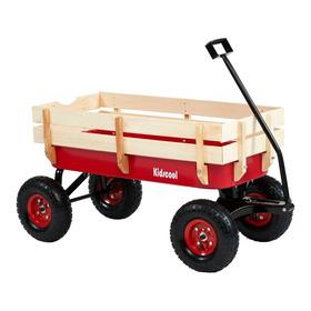 Carrio Wagon Baranda De Madera Kidscool