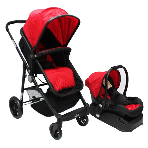 carriola 4 en 1 solee plain red color lifestyle by infanti