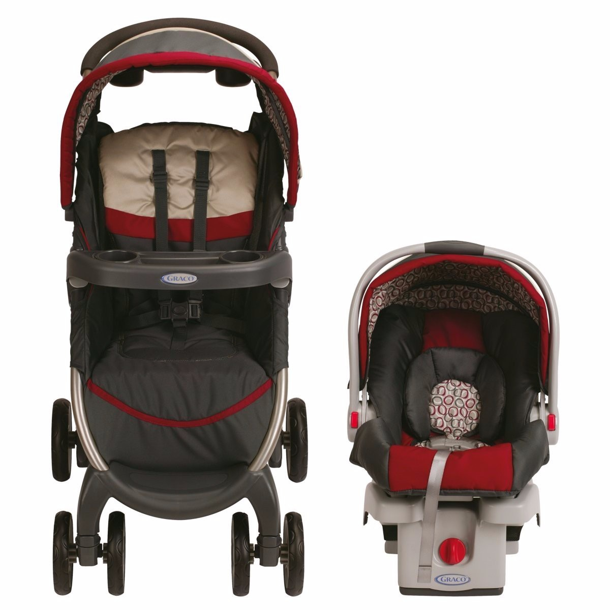 Carreola Carriola Bebe Travel System Graco Fastaction