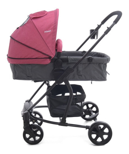 carriola bebe prinsel prima posiciones portabebe/autoasiento