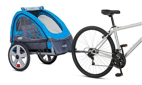 carriola carrito para bicicleta instep sync