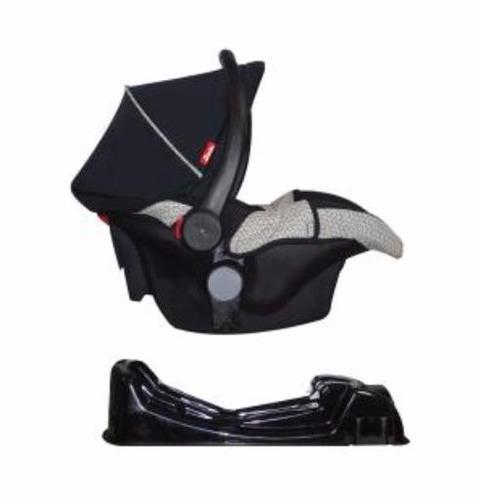 carriola dbebe crown negro con portabebe y base auto