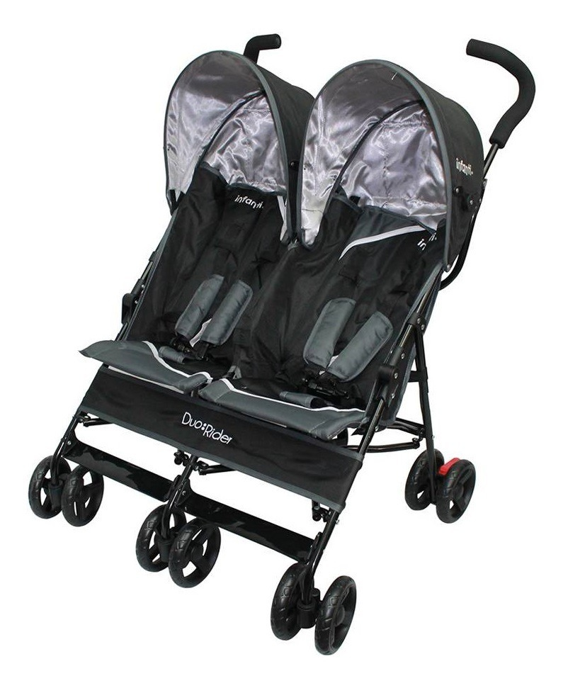 ca46a6223 carriola de baston bebe infanti duo doble reclinable negro. Cargando zoom.
