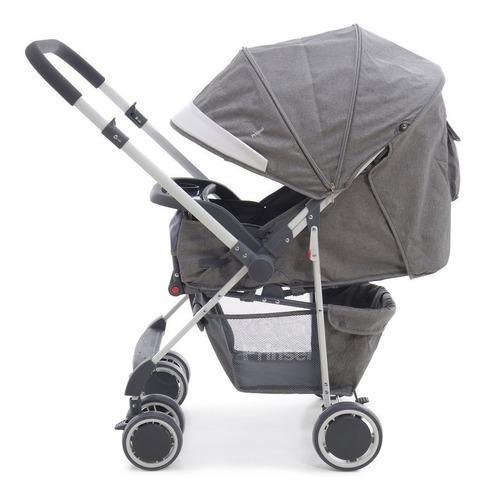 carriola de bebe prinsel oviedo ts + portabebe reversible en