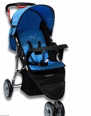 carriola de paseo marca infanti azul cielo tipo jogger